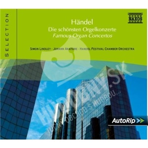 George Frideric Handel - Famous Organ Concertos od 9,42 €