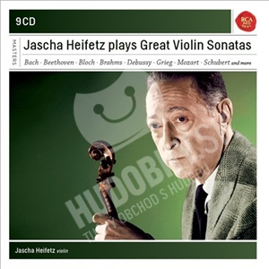 Jascha Heifetz - Jascha Heifetz Plays Great Violin Sonatas od 39,20 €