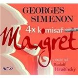 Georges Simenon, Rudolf Hrušínský - 4x komisař Maigret potřetí