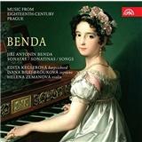 Edita Keglerova, Helena Zemanová, Ivana Bilej-Brouková - Benda - Sonatas Sonatinas Songs