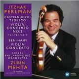 Itzhak Perlman, Israel Philharmonic Orchestra, Zubin Mehta - Castelnuovo-Tedesco-Ben-Haim - Violin Concertos