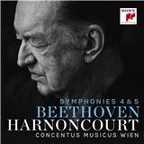 Nikolaus Harnoncourt, Concentus Musicus Wien - Beethoven - Symphonies Nos. 4 & 5
