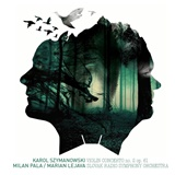 M. Pala, M. Lajeva - Slovak radio Symphony orchestra Szymanowski K. / Berg A. - Concerto for violin  & Orchestra (Vinyl)