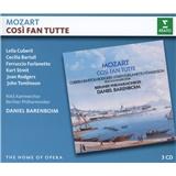 D. Barenboim,  C. Bartoli,  L. Cuberli, J. Tomlinson, Wolfgang Amadeus Mozart - Mozart: Cosi Fan Tutte (3CD)