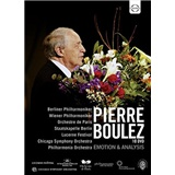 Pierre Boulez, Berliner Philharmoniker - Emotion & Analysis - 1974-2009 (10DVD)