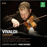 Europa Galante, Fabio Biondi - Vivaldi - Concerti (9CD)