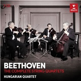 Hungarian quartet - Beethoven - The complete string quartets (7CD)