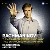 André Previn - Rachmaninov - the 4 piano concertos (piano works) - the 3 symphonies (orchestral works) - (8CD)