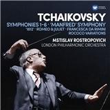 Rostropovich - Tchaikovsky- Symphonies 1-6, Manfred Symphony (6CD)