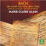 Marie-Claire Alain,  Johann Sebastian Bach - The art of fugue (2CD)