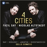 Fazil Say, Nicolas Altstaedt - 4 Cities