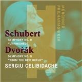 Sergiu Celibidache, Dvořák, Schubert - Schubert Sinfonie 8/Dvořák Sinfonie Nr. 9