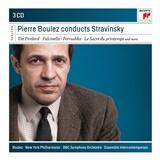 Pierre Boulez - Pierre Boulez Conducts Stravinsky (3CD)