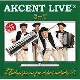 Akcent - Ľudové piesne pre dobrú náladu 2