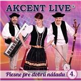 Akcent live - Piesne pre dobrú náladu 4