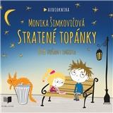 Monika Šimkovičová - Stratené topánky - číta Dušan Cinkota (Audiokniha - Mp3 CD)