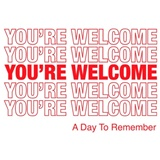 A day to remember - You' re welcome
