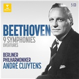 Andre Cluytens - 9 Symphonies  Overtures (5CD)