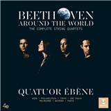 Quatuor Ébene - Beethoven Around the World-Compl.String Quartets (7CD)