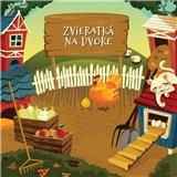 Ujo Ľubo a Junior - Zvieratká na dvore (Kniha+CD)