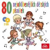 VAR - 80 nejoblíbenějších dětských písniček (2CD)