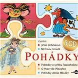 Bohdalová, Donutil - Pohádky (3CD)