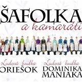various - Šafolka a Kamaráti - Ľudová hudba Oriešok, Ľudová hudba Dominika Maniaka