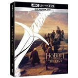 Film - Hobit filmová trilogie: Prodloužená a kinová verze 6BD (UHD) - (BRD)