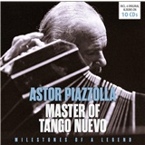Astor Piazzolla, VAR - The Master of Tango Nuevo (10CD)